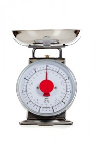 How to choose a kitchen scale with weights?